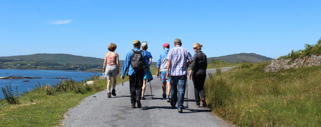 walking group in connemara