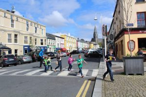 shoppers in clifden