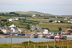 holiday cottages in cleggan bay